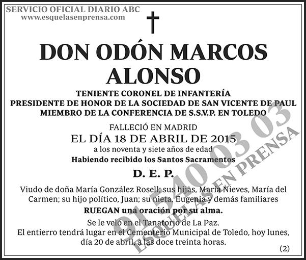 Odón Marcos Alonso